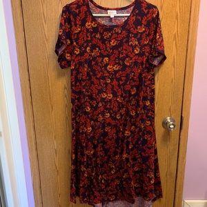Lularoe soft dress size L